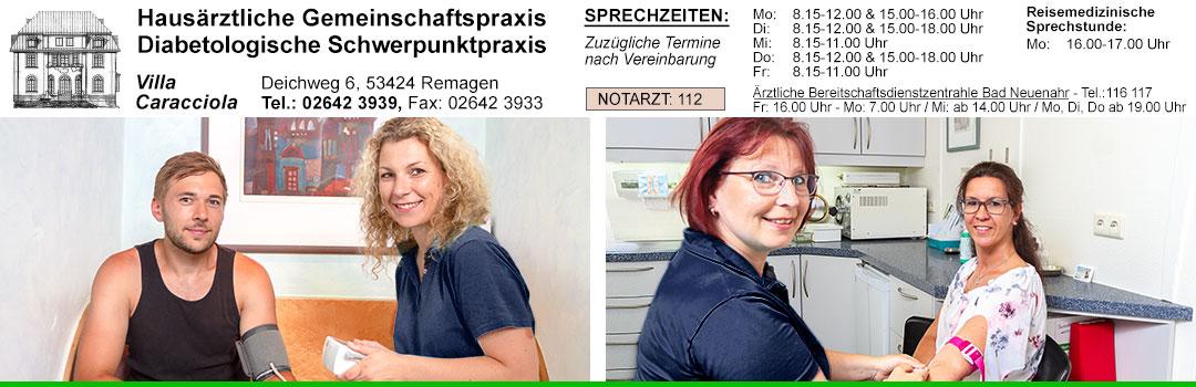 Medizinische Grundversorgung - Gemeinschaftspraxis Dr. Kloft Dr. Stamm-Koft